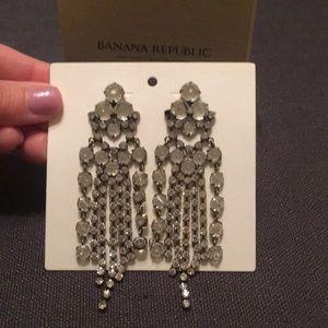 Banana Republic crystal earrings